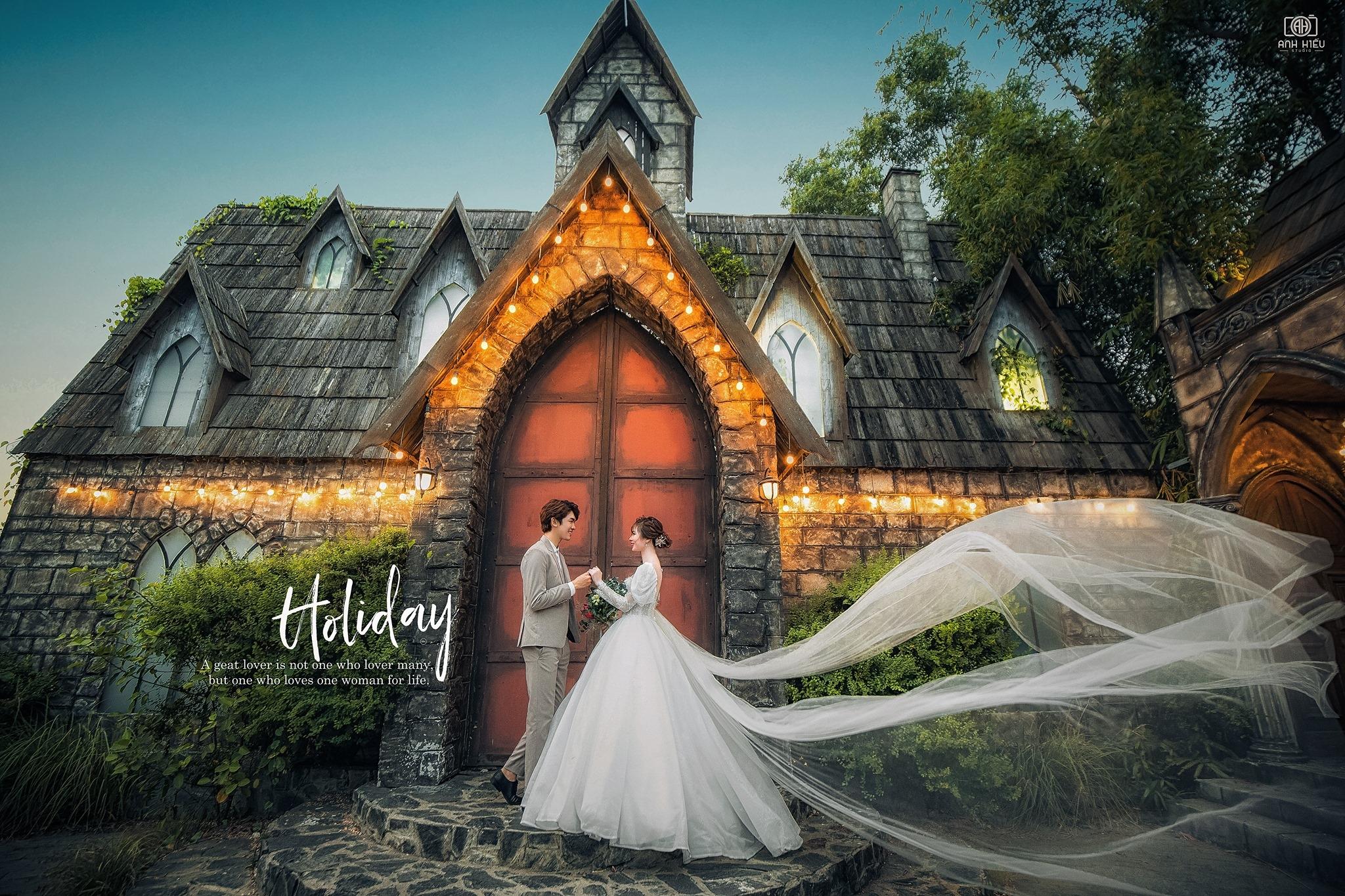 hình cưới phim trường đẹp Thành Phố Hồ Chí Minh